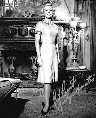 Pat Priest Marilyn Munster Signed Picture Munster Mansion 8X10 Photo Autograph