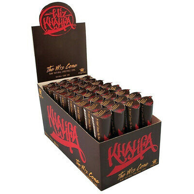 Wiz Khalifa Pre Rolled Cones King Size By RAW Classic The Wiz Cone Unrefined UK