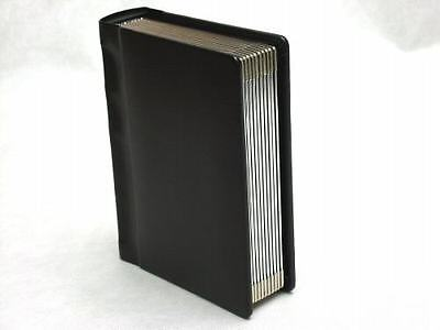 Professional 5x7 Black Silver edged Album - 20 photos (Engraving Available)