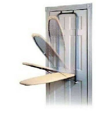 Folding Ironing Board Door Mounted Fold Away Hidden In Wall Mount Cabinet Press