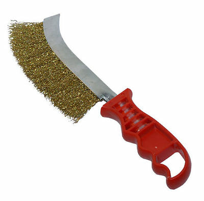New Rust Cleaning Wire Brush Brass Knife Brushes Copper Steel Wires DIY Tool