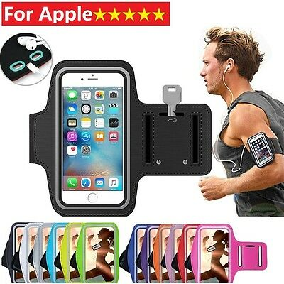 For iPod Touch iPhone 4 5 5s 6 6S 7 plus Gym Sports Armband Running Jogging Case