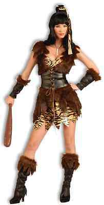 Cave Cutie Prehistoric Stone Age Cavewoman Fancy Dress Halloween Adult Costume