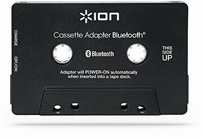 Ion Audio Bluetooth Cassette Adapter | Rechargeable Hands-free Wireless Music