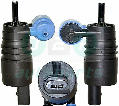 For Seat Ibiza/ST Mk5 (2008-2015) Dual/Twin Outlet Windscreen Washer Pump