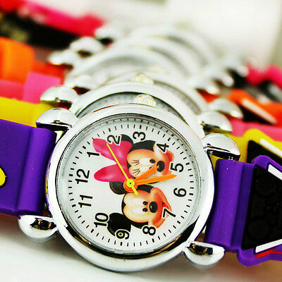 Children Teens Kids Boys Girls Watches Mickey Mouse and Minnie Mouse Watch