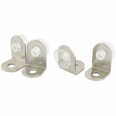 20mmx15mmx14mm Glass Shelf Mounting Holder Support Suction Cup Plates 4Pcs