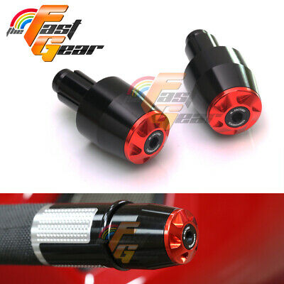 TFG Red  CNC Bar Ends Sliders For Suzuki SV650 / S 1999-2012