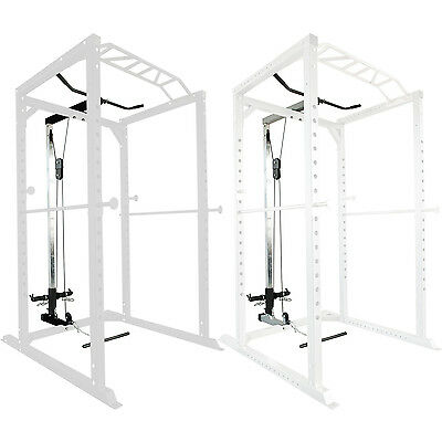 Lat Pulldown Attachment for Olympic Power Rack Squat Cage