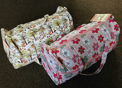 LONG KNITTING CRAFT BAGS Summer Floral or Woodland Super Quality BRAND NEW
