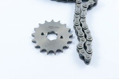Yamaha YBR 125 Chain and front sprocket Kit higher geared more speed 2005