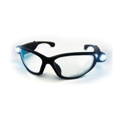 SAS Safety 5420-15 Lightcrafters LED Inspectors Readers Safety Glasses
