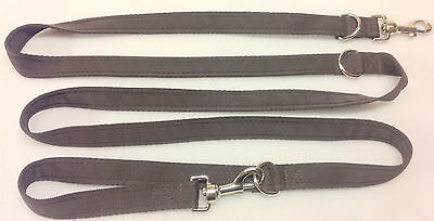 Cushion Web Police Style Adjustable Dog Training Lead Police Lead 6 WAY FREE P&P