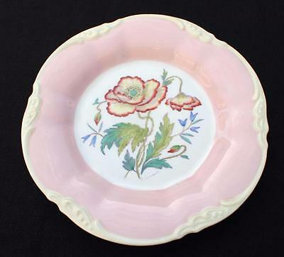 "Vintage COALPORT Signed D SIMMIN England POPPY Pattern #32926 8 1/2"" Plate"