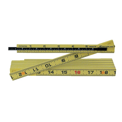Wiha 61620 Outside Reading 6In Depth Extension Long Life MaxiFlex Folding Ruler