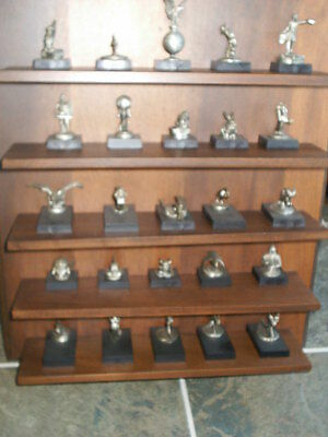 Official Hood Ornament Collection Of America Great Cars Complete 25 Pcs Set