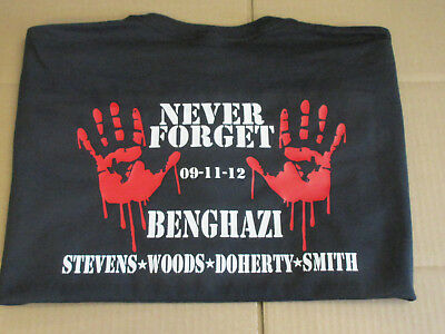 Remember Benghazi T-Shirt Shirt 13 hours Navy Seal hillary obama isis