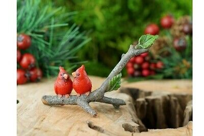 My Fairy Gardens Mini - Cardinals On Branch - Supplies Accessories