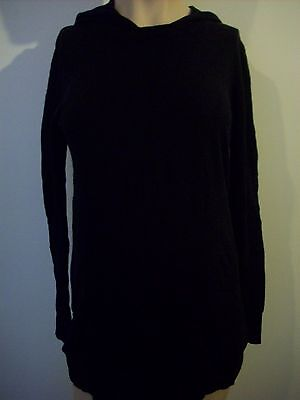 Egg Maternity Black Hoodie Jumper Small Or Medium