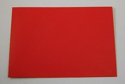 """Red Card Envelopes 8 1/4"""" X 5 3/4"""" Lot of 50 New"""