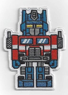 Transformers Optimus Prime Iron On Patch ;special Buy 2 Get 1 Free = 3 Of These