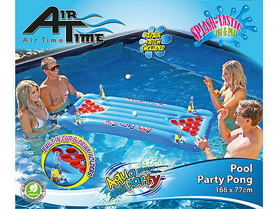Airtime Party Pool Pong Beer Pong Water Drinking Game 166x77cm