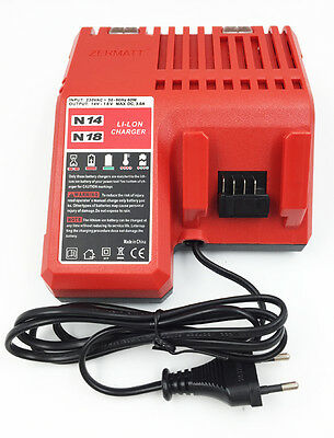 NEW Milwaukee M18 Max 220-240v LI-ion Electric Power Tool Battery Charger