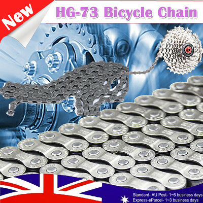 9 Speed CN-HG73 116 Links HG-73 Narrow Bike Bicycle Chain for Deore LX105 AU Hot