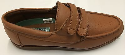 Mens Velcro Bowling Shoes, Colour Tan, Special Offer - only £18.99 Free Postage