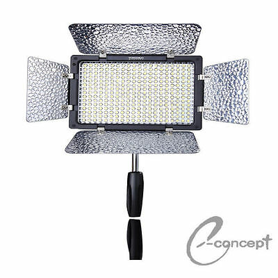 YONGNUO YN-300 II YN300 II LED Studio Video Light 3200k-5500k Adjustable Color