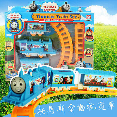 New Thomas Electric Train Track Rail Drop Play Set Toy For Boy Children's gifts