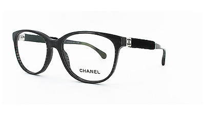 a0cff2b90c9 Brand New Chanel Eyewear CH 3267 c.1443 Authentic Frame Rx Glasses Black    Case