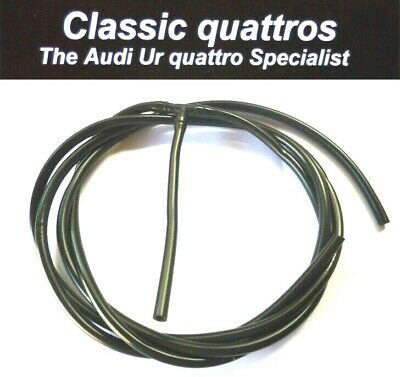 New Black  Windscreen Washer Pipe Kit Audi Ur Quattro Turbo Coupe/quattro Coupe