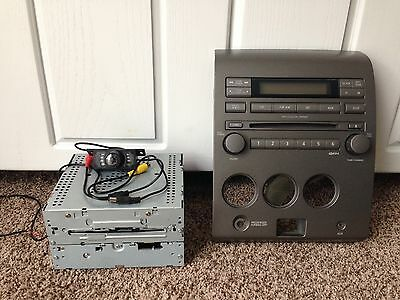 05-06 stock Nissan Titan stereo with 6 CD changer and the Stock Bezel & rear cam