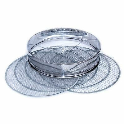 Garden and Pond filter 5in1 Stainless steel with 5 Sieve mesh