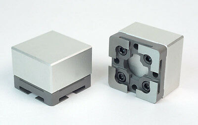 Solid Blank Holder for the system 3r macro system  - aluminum