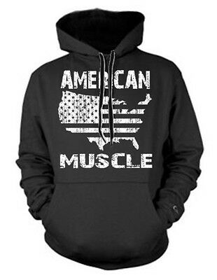 Men/'s USA Flag Map Mask Hoodie Workout Fitness Lifting American Sweater Jacket