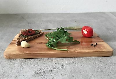 Cutting Board Olive Wood / Serving and Breakfast Board, rectangular / handmade