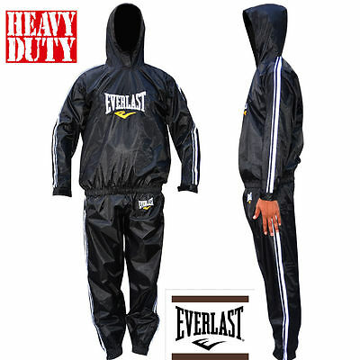 EVERLAST Heavy Duty Sweat Suit Sauna Exercise Gym Suit Fitness Weight Loss Anti-