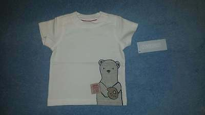 NWT Gymboree First Play Date Baby Boys Baby Bear Baseball Tee, Size 3-6 Months