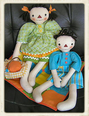 LEO & LiVVY || Cloth Doll Pattern || UP iN ANNiE'S ROOM!