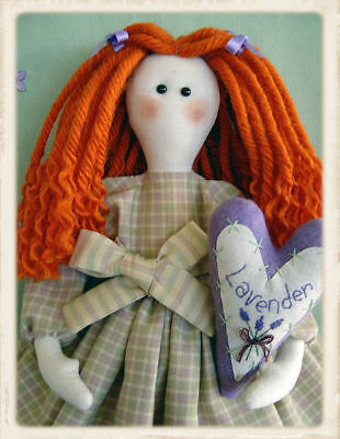 LETTiE'S LAVENDER  || Cloth Doll Pattern || UP iN ANNiE'S ROOM!