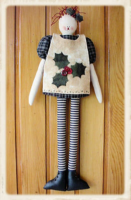 HOLLYANNA  || Cloth Doll Pattern || UP iN ANNiE'S ROOM!