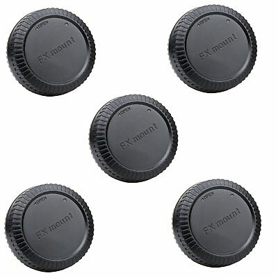 5pcs Rear Lens Cap Cover for Fujifilm Fuji FX X Mount X-Pro 1 X-E1 X10 XF1 new