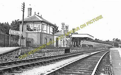 Pensford Railway Station Photo. Brislington - Clutton. Bristol to Radstock. (1)