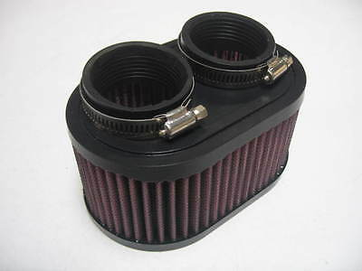 New Universal Air Filter Norton 750/850 Commando K&N Style ( R-0990 ) AF0990