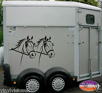Horsebox Lorry Trailer Horse Stickers Decals Graphics Horse & Carriage Driving