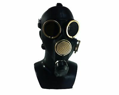 Soviet russian gas mask GP-7. Black rubber. New. sizes 1, 2. S M