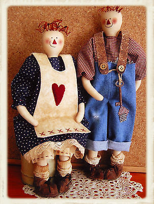 OUR ANNiE & OUR ANDY || Cloth Doll Pattern || UP iN ANNiE'S ROOM!