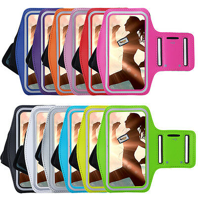 For Samsung Galaxy Series Gym Sports Case Armband Running Jogging Phone Cover